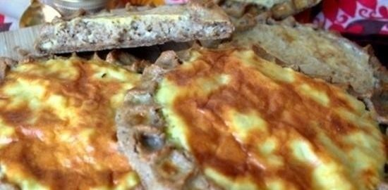 Шаньги на ржаном тесте кулинарный рецепт