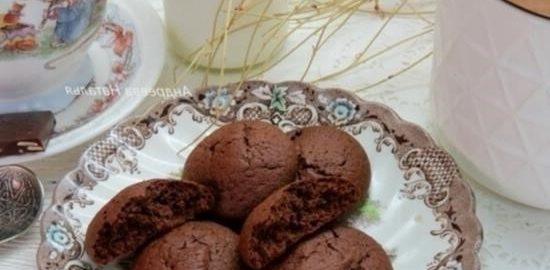 Шоколадное печенье со специями кулинарный рецепт