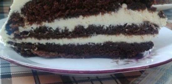 Торт «Пломбир» кулинарный рецепт