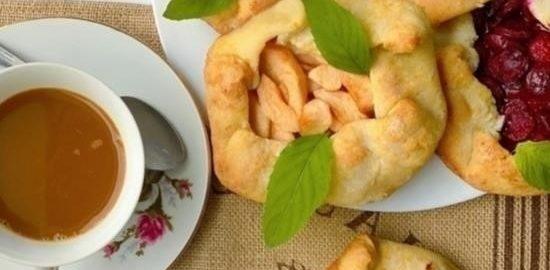 Творожные галеты кулинарный рецепт