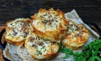 Хрустящие пирожки кулинарный рецепт