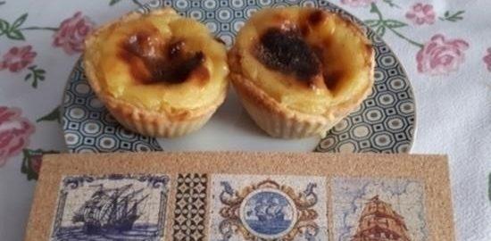 Pastel de nata кулинарный рецепт