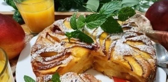Пирог «Нектарин» кулинарный рецепт
