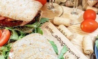 Сэндвич с глазированной грудинкой кулинарный рецепт