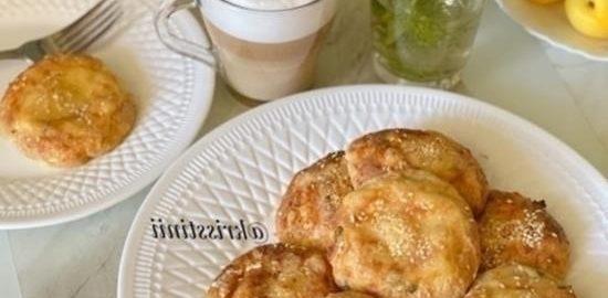 Сырные пончики из цельнозерновой муки кулинарный рецепт