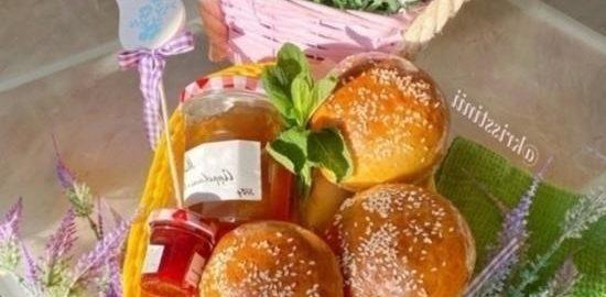 Вкуснейшие булочки для бургеров или завтрака кулинарный рецепт