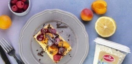 Воздушная лимонная запеканка кулинарный рецепт