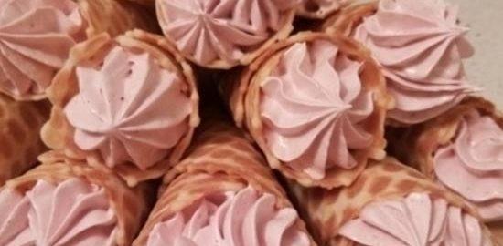 Зефир в вафельном рожке кулинарный рецепт