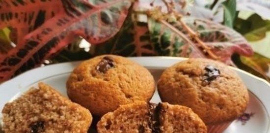 Банановые маффины с шоколадом кулинарный рецепт