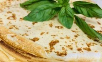 Диетические творожные блины кулинарный рецепт