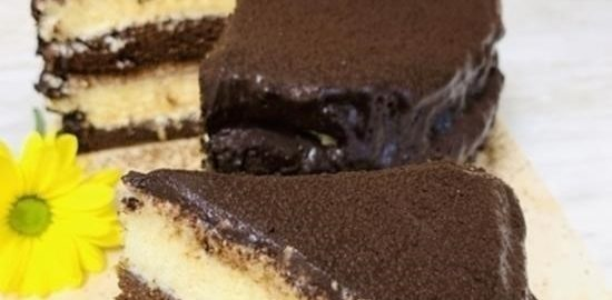 Диетический шоколадный торт кулинарный рецепт