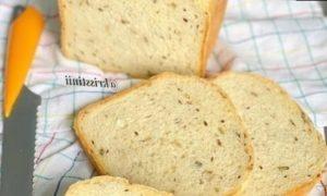 Домашний хлеб с семенами кулинарный рецепт