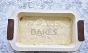 Кокосовый пирог-перевертыш с бананом и карамелью рецепт шаг 5