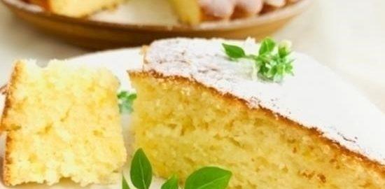 Лимонный пирог кулинарный рецепт