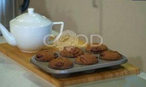 Маффины с инжиром и тыквенными семечками рецепт шаг 7