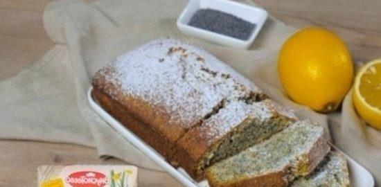 Маковый кекс кулинарный рецепт