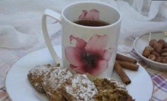 Морковное печенье с корицей и фундуком кулинарный рецепт