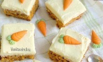 Морковные пирожные кулинарный рецепт