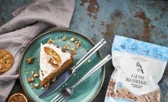 Морковный пирог без яиц и молока кулинарный рецепт