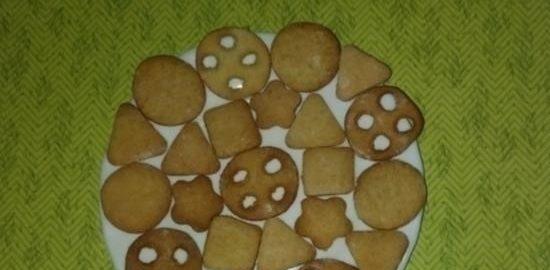 Печенье с бананом и пряничными специями кулинарный рецепт