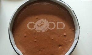 Шоколадно-грушевый чизкейк рецепт шаг 5
