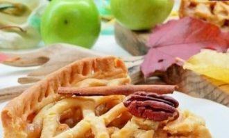 Американский яблочный пирог кулинарный рецепт