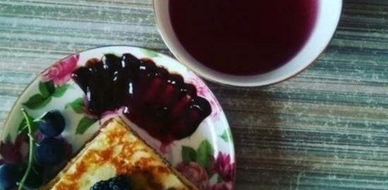 Японские панкейки в виде блинчиков кулинарный рецепт
