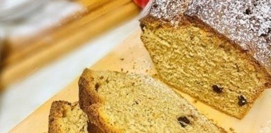 Кекс из цельнозерновой муки кулинарный рецепт
