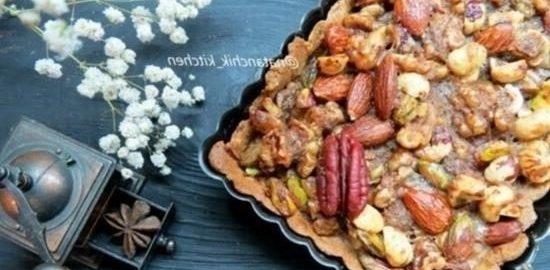 Ореховый тарт кулинарный рецепт