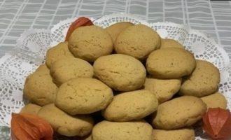 Печенье с тыквой «Осеннее» кулинарный рецепт