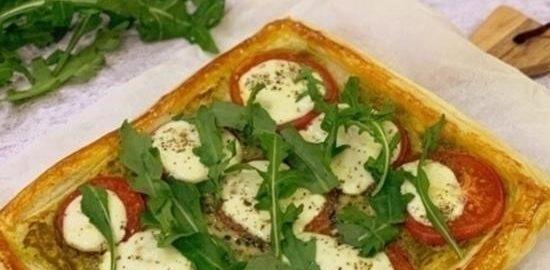 Пирог «Капрезе» кулинарный рецепт