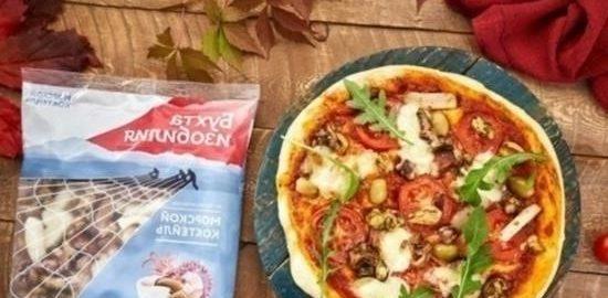 Пицца с морепродуктами кулинарный рецепт