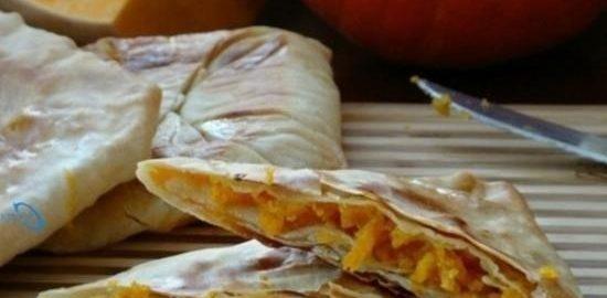 Плацинды с тыквой кулинарный рецепт