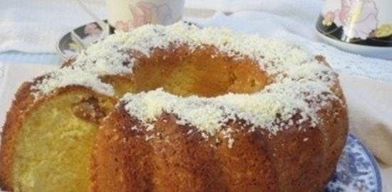 Шафрановый кекс кулинарный рецепт