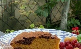 Шоколадно-тыквенный кекс кулинарный рецепт