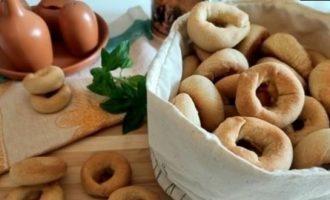 Сушки с ветчиной и сыром кулинарный рецепт