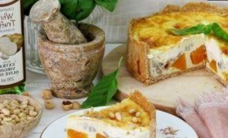 Тарт с тыквой и голубым сыром кулинарный рецепт