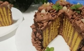 Торт «Улитка» кулинарный рецепт
