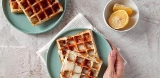Творожные вафли кулинарный рецепт
