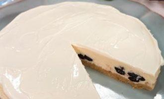 Творожный чизкейк с изюмом кулинарный рецепт