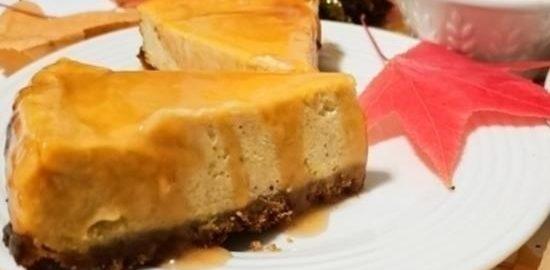 Тыквенный чизкейк с карамелью кулинарный рецепт