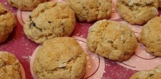 Апельсиновое печенье с шоколадом кулинарный рецепт