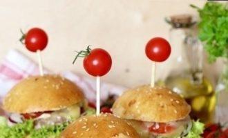 Домашние бургеры с индейкой кулинарный рецепт