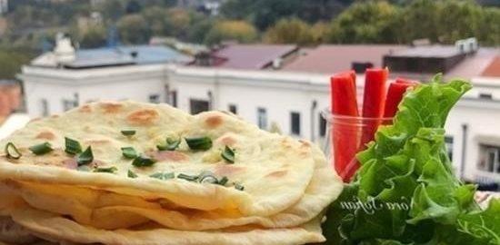 Индийские лепешки наан кулинарный рецепт