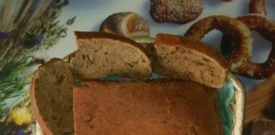 Хлеб с оливками и ржаными отрубями кулинарный рецепт