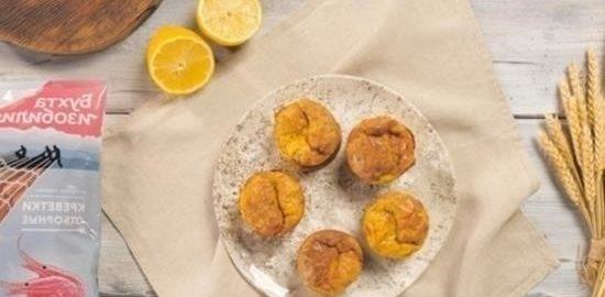 Маффины с креветками кулинарный рецепт