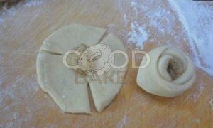 Орехово-сырные розочки рецепт шаг 3
