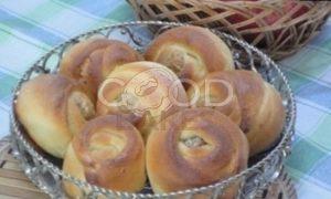 Орехово-сырные розочки рецепт шаг 4