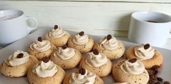 Печенье «Капучино» кулинарный рецепт