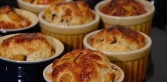Сдобные булочки со сливами кулинарный рецепт